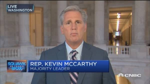 Rep. McCarthy: History will be kind to John Boehner