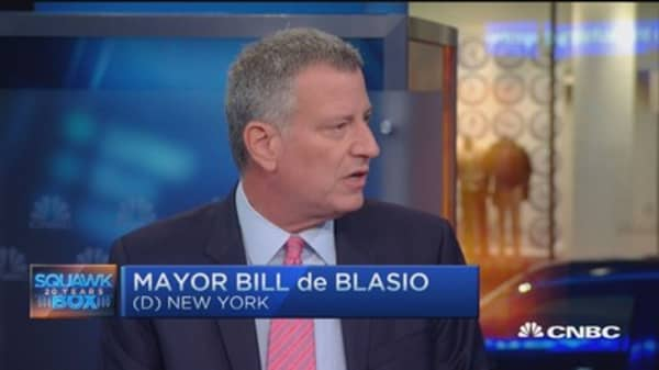 De Blasio: Not ready to endorse Dem candidate