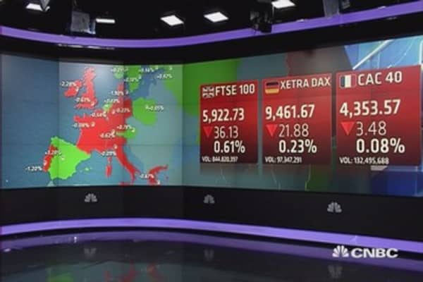 Europe closes lower; Glencore and oil prices soar