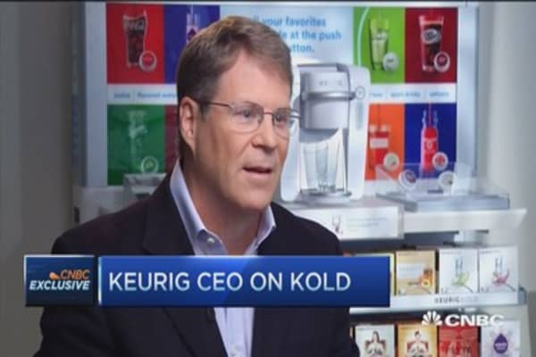 Could cold beverages make Keurig hot?