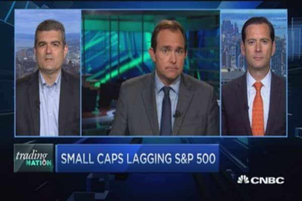 Trading Nation: Small-cap slap