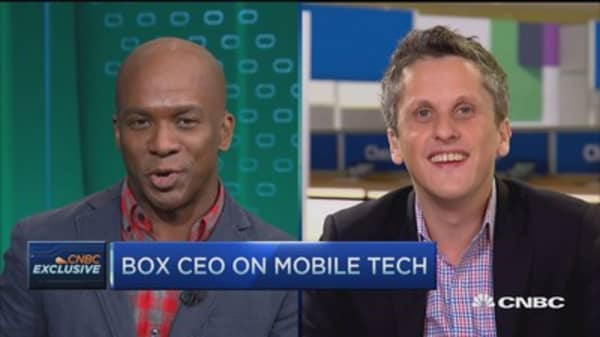 Box CEO: Box growth driven by mobility push