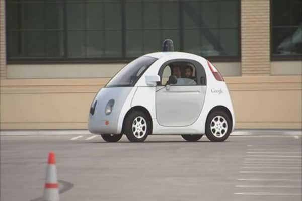 Going for a drive in Google's self-driving prototype