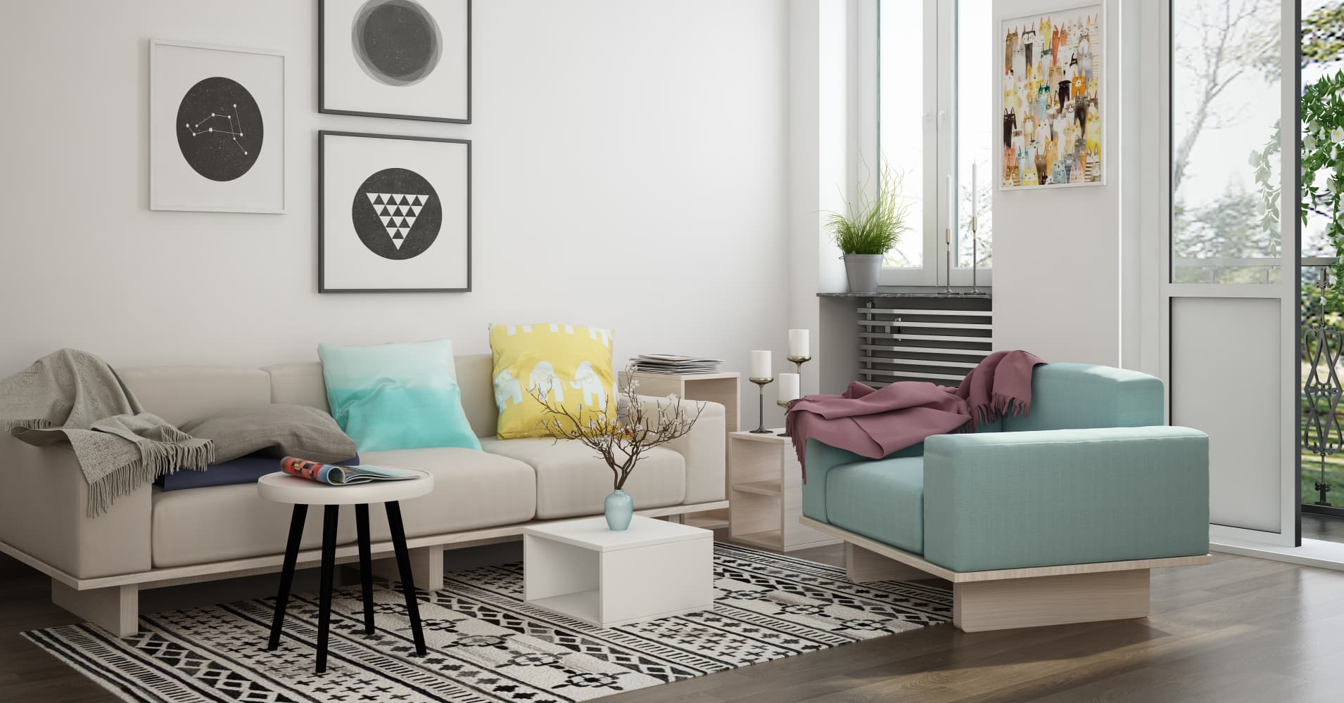 The indian ikea start up livspace is transforming home - Home decor ideas for living room ...