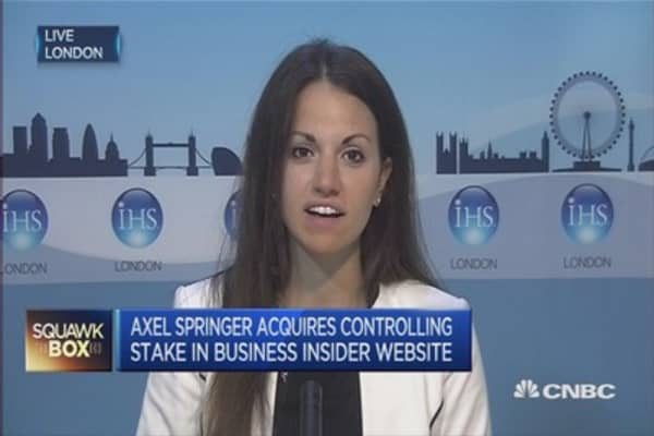 Axel Springer's Business Insider buy is reactive: Analyst