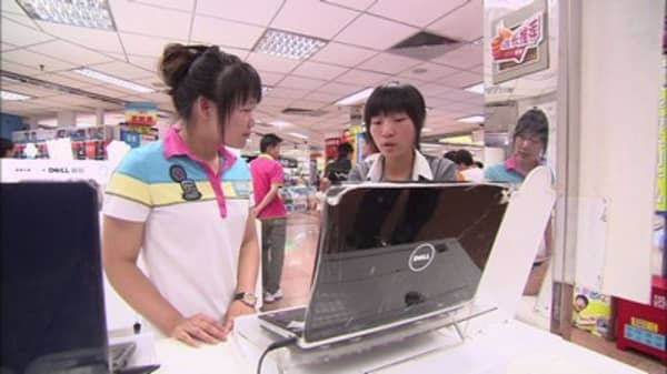 China consumers feeling good