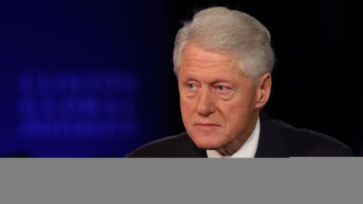 Bill Clinton at the 2015 CGI Annual Meeting in New York.