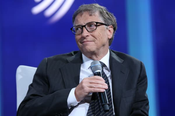 Bill Gates the 2015 CGI Annual Meeting in New York.