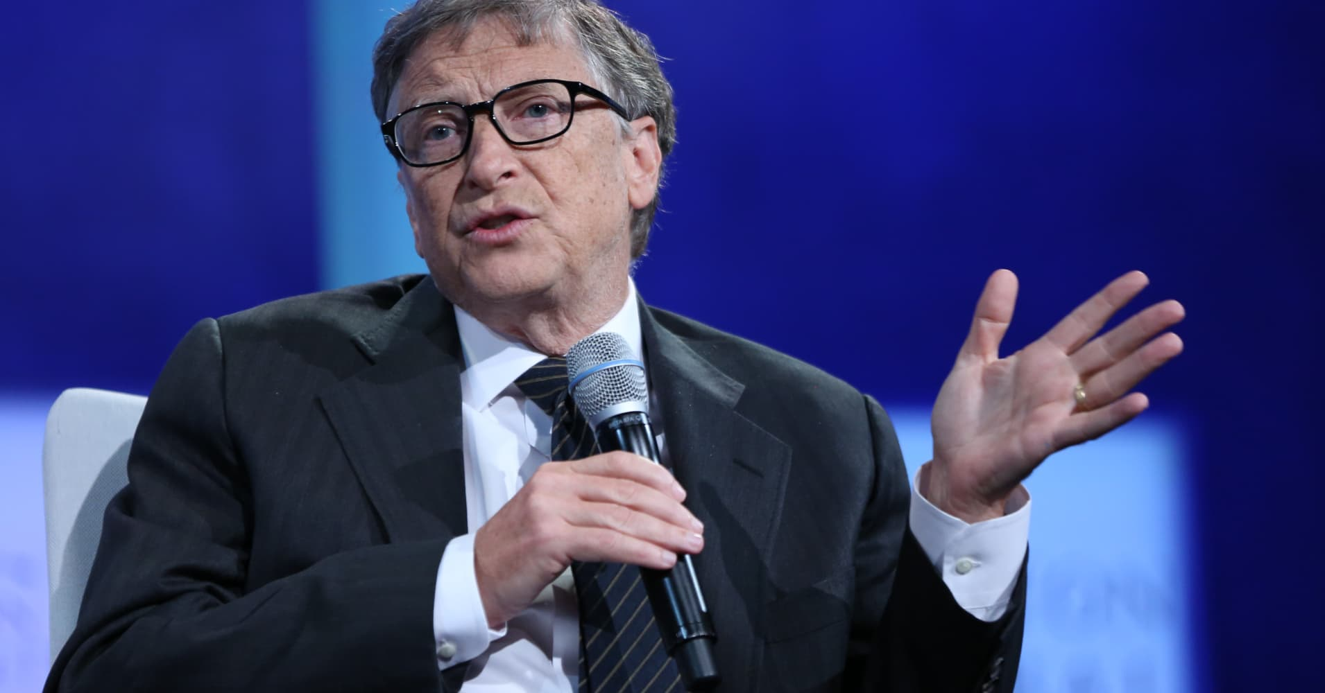 Bill Gates at the 2015 CGI Annual Meeting in New York