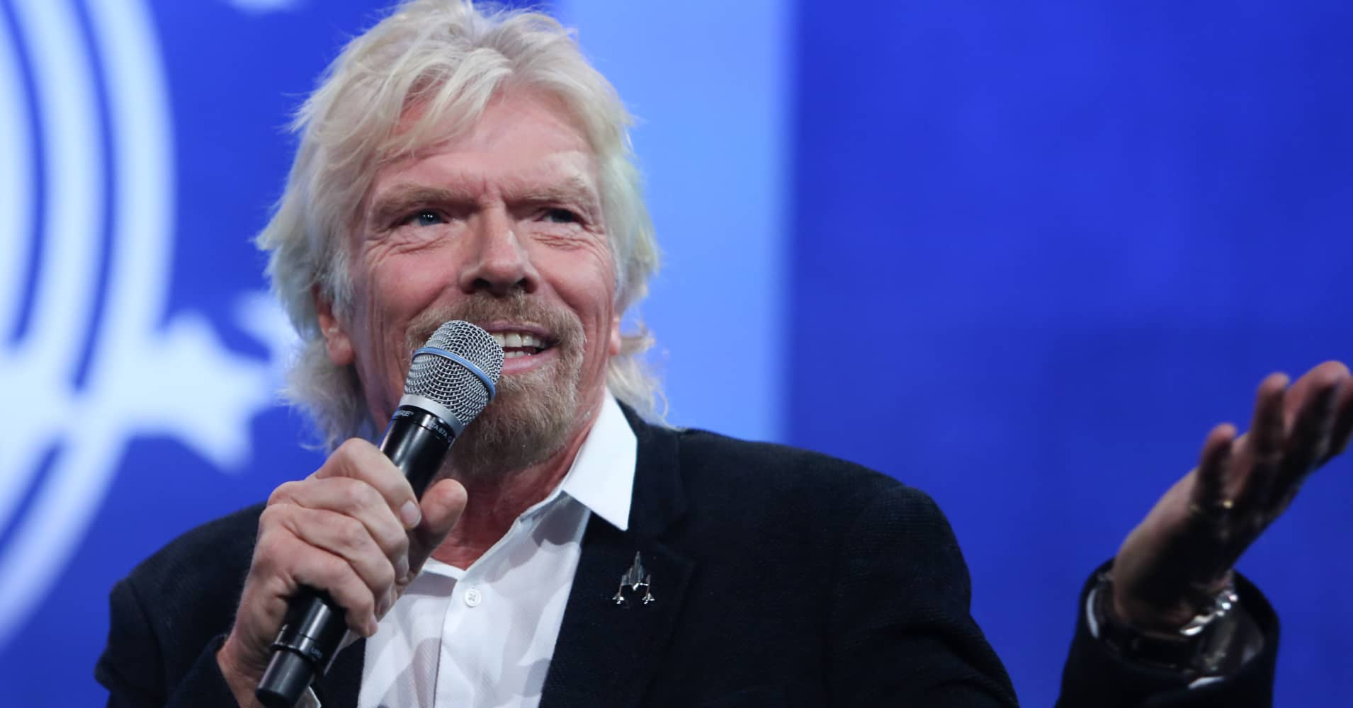 Richard Branson at the 2105 CGI Annual Meeting in New York.