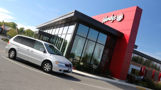The Wendy's Company (NASDAQ:WEN) Shares on the Go mid-Session
