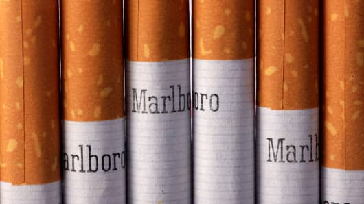 Marlboro cigarettes, produced by Altria Group