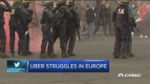 Uber's euro troubles