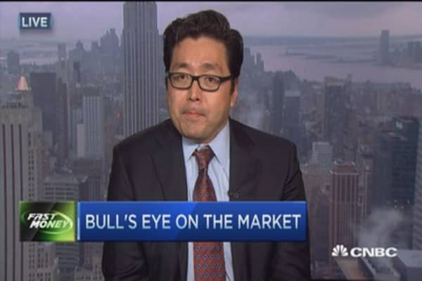 A bull's eye on the market