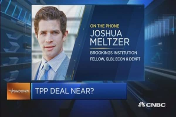 Will there be a TPP deal this week?