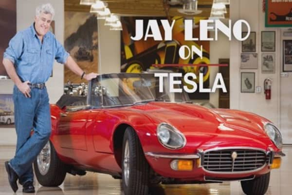 Why Jay Leno felt like 'an idiot' buying his Tesla