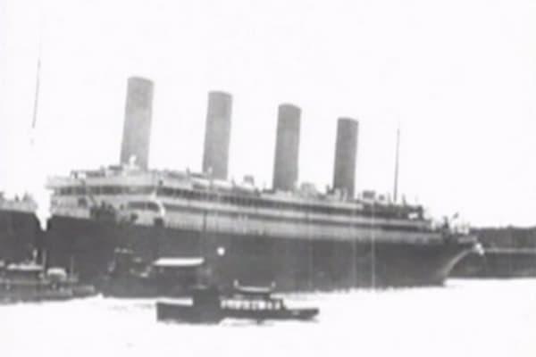 Titanic menu could fetch huge auction