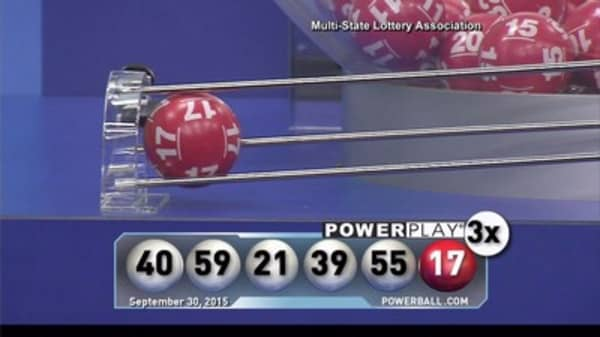 Powerball jackpot claims a winner