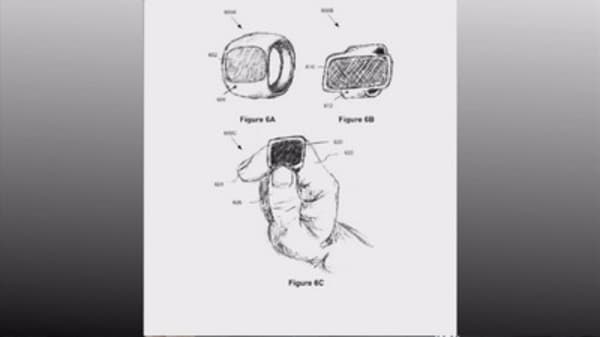 Apple applies for smart ring patent