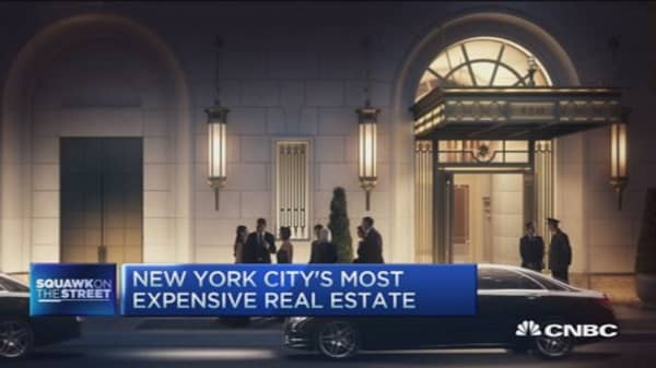NYC most expensive real estate