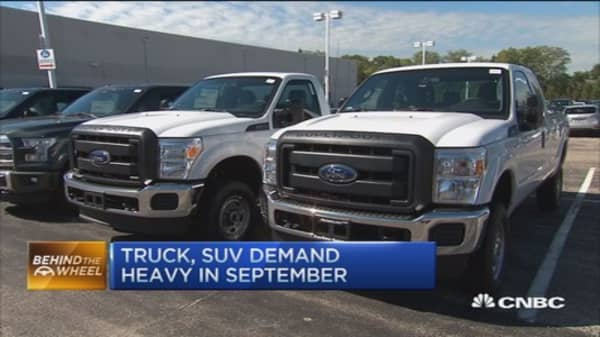 Labor Day drives strong auto sales
