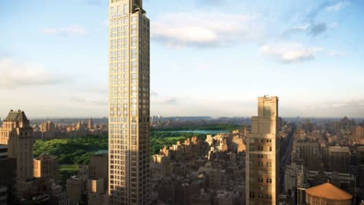 A rendering of 520 Park Avenue, New York.