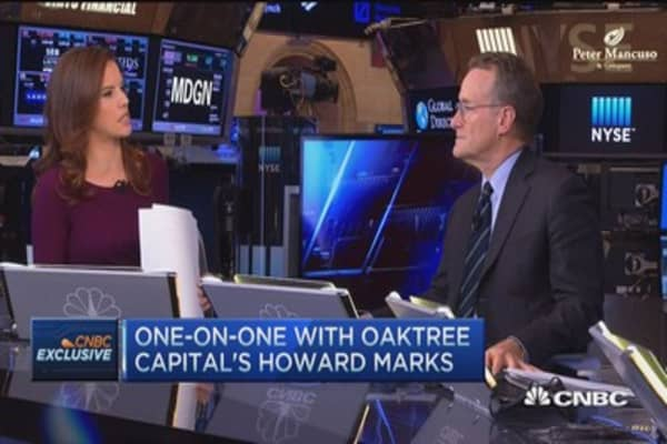 Howard Marks: We don't have free market in money