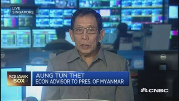 Myanmar bets big on ASEAN Economic Community