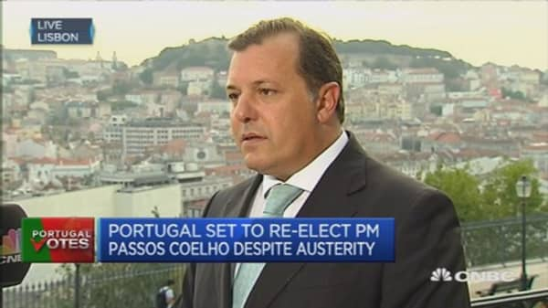 Confident of support: Portugal Economy secretary