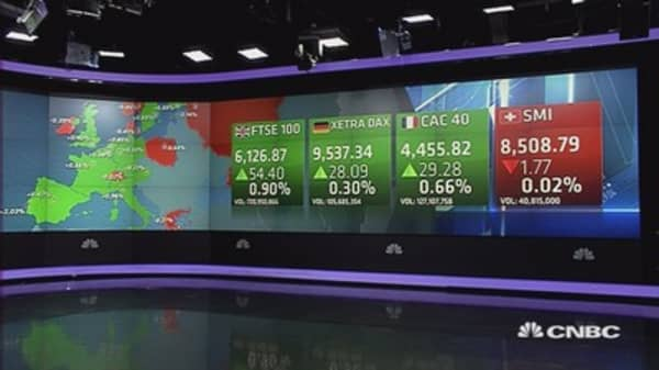 Europe closes higher despite US jobs