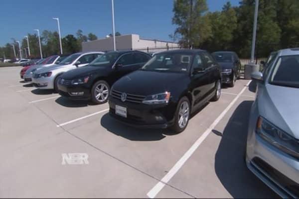 Auto sales surge