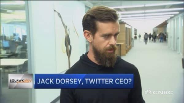 Dorsey right guy for Twitter but...