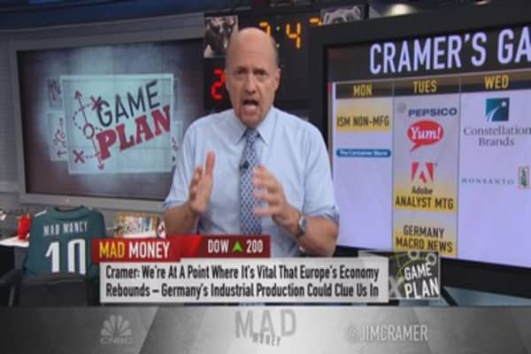 Cramer game plan: Get ready for earnings playoffs!