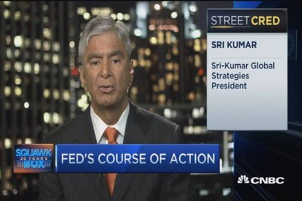 Don't expect rate hike 'anytime soon': Sri Kumar