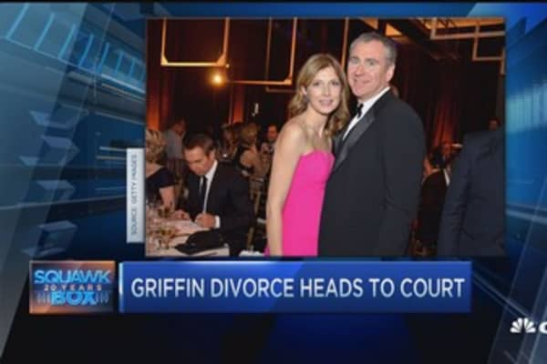 Griffin vs. Griffin: Battle for $7B fortune