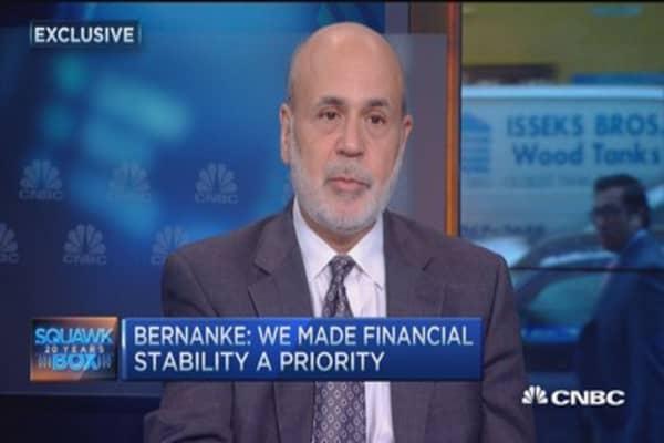Bernanke: Rate hike should be last resort