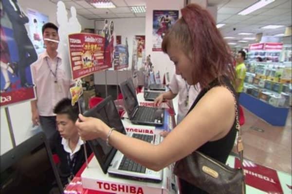 Chinese spending big overseas