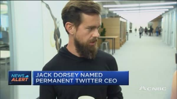 Jack Dorsey officially named Twitter CEO