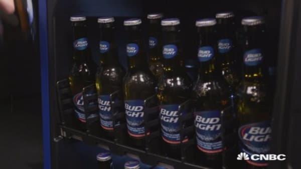 Bud Light's new fridge will send you texts