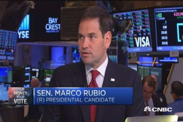 Obama's ideas don't work: Rubio