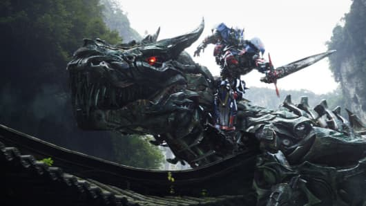 """A still from the movie """"Transformers: Age of Extinction."""""""