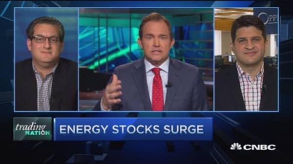 Trading Nation: 'High-energy' stocks