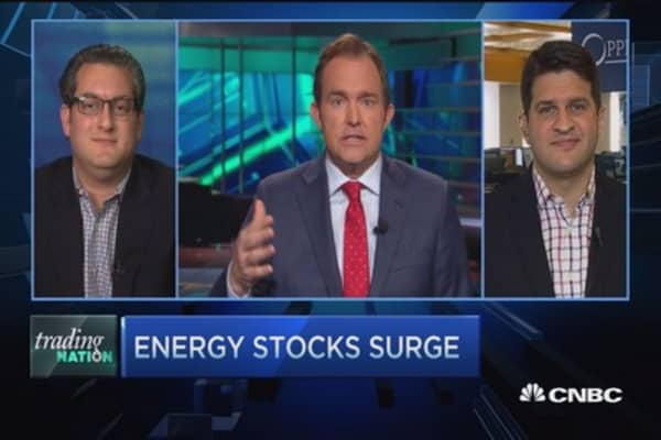 Trading Nation: 'High-energy' stocks