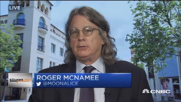 McNamee on Alphabet & Google