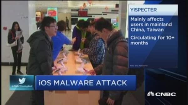 iOs malware attack
