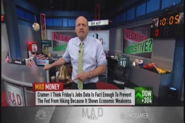 Cramer: Why I'm rethinking my view on the market