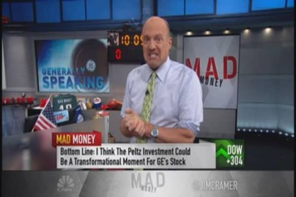 Cramer: Peltz could double GE's stock
