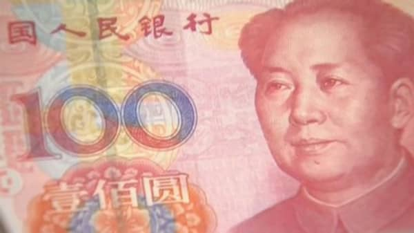 More people paying with the Yuan