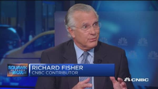 Richard Fisher: Yellen will determine Bernanke's fate
