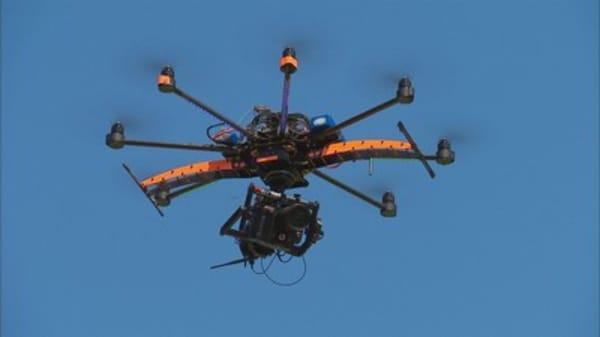 Hackers with drones targeting wireless printers